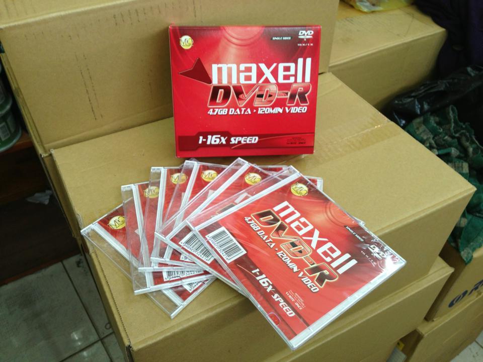 DVD Maxell hop do2