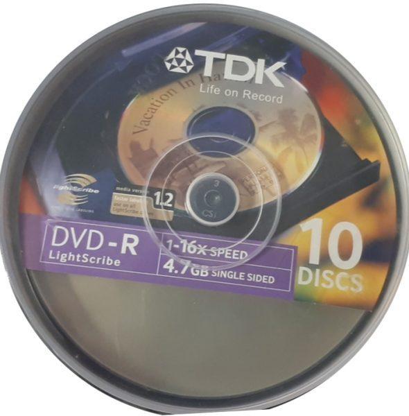 DVD lightsribe
