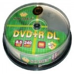 Đĩa DVD9 Somei, double layer, 8,5GB