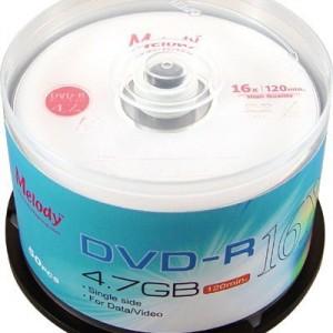 Đĩa DVD Melody trắng, chính hãng
