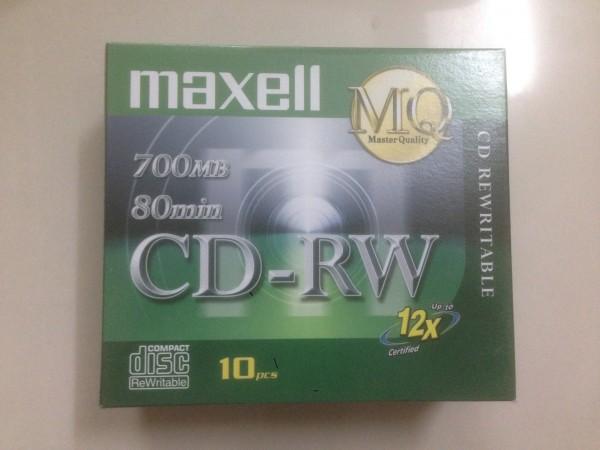 CD RW Maxell