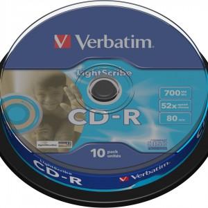 CD Lightscribe Verbatim