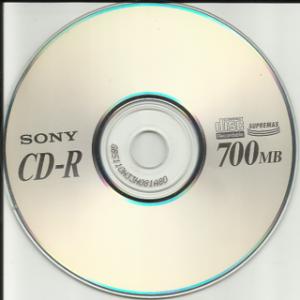 CD Sony chính hãng, có hộp