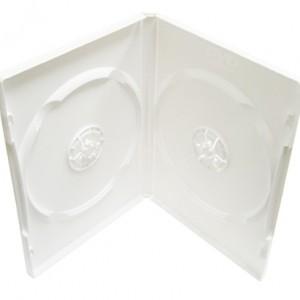 Vỏ hộp đĩa DVD trắng sữa 2 đĩa