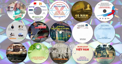 In sao đĩa CD DVD tại Hà Nội