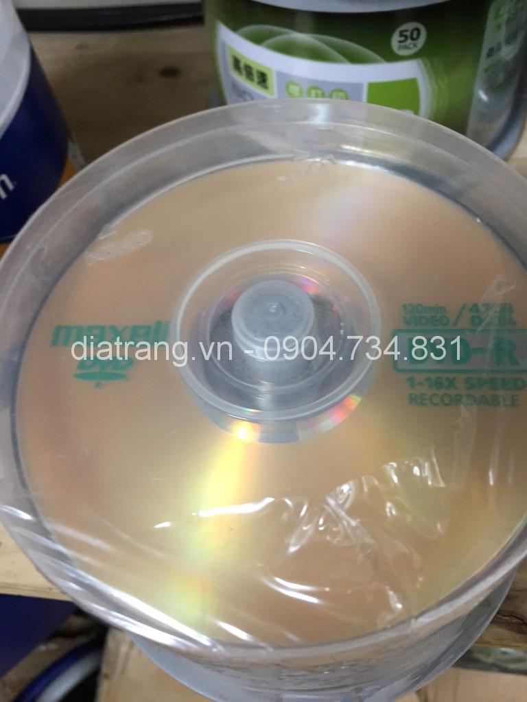 DVD Maxell chính hãng