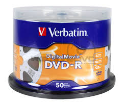 Đĩa DVD Verbatim Digital Movie