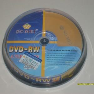 DVD Somei RW, đĩa ghi xóa nhiều lần