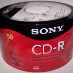 Đĩa CD Sony chính hãng