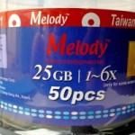 Đĩa Bluray 25GB