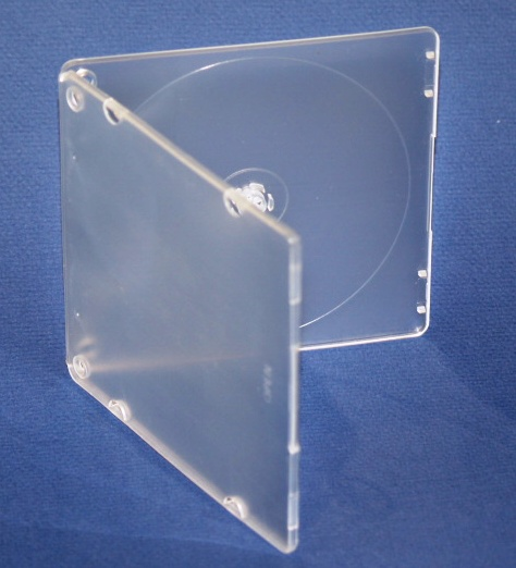 CD case pp, c shell case