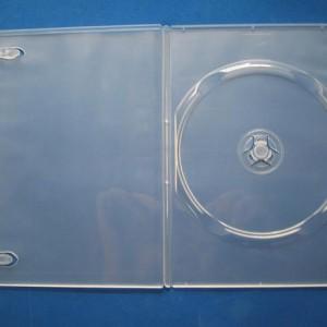 Vỏ hộp đĩa DVD mỏng trong, đơn, dvd case clear