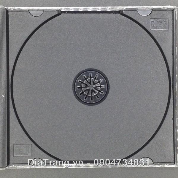 Vỏ hộp đĩa mika đen xịn