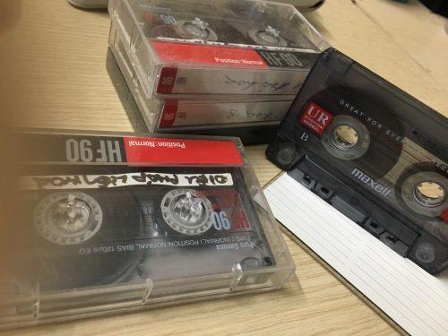 Băng cassette trắng